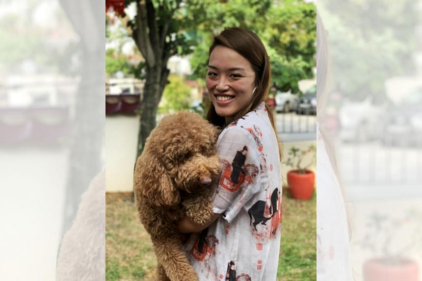 Ms Vanessa Lim (above), 30, bought her first life insurance policy eight years ago as a working adult. PHOTO: VANESSA LIM