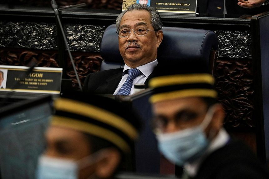 Malaysian Prime Minister Muhyiddin Yassin's administration, which has only a two-seat majority in the Lower House, would effectively collapse should Umno withdraw its support.