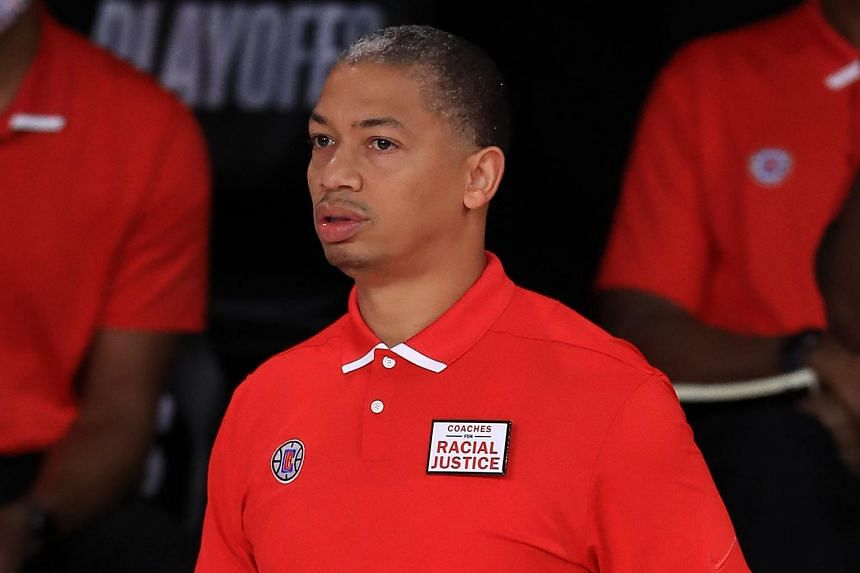 Tyronn Lue served as the lead assistant coach for the Clippers this past season.