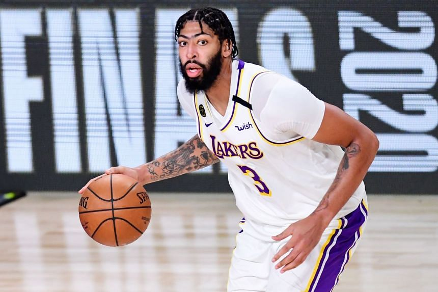Anthony Davis averaged 26.1 points in his first year with the LA Lakers