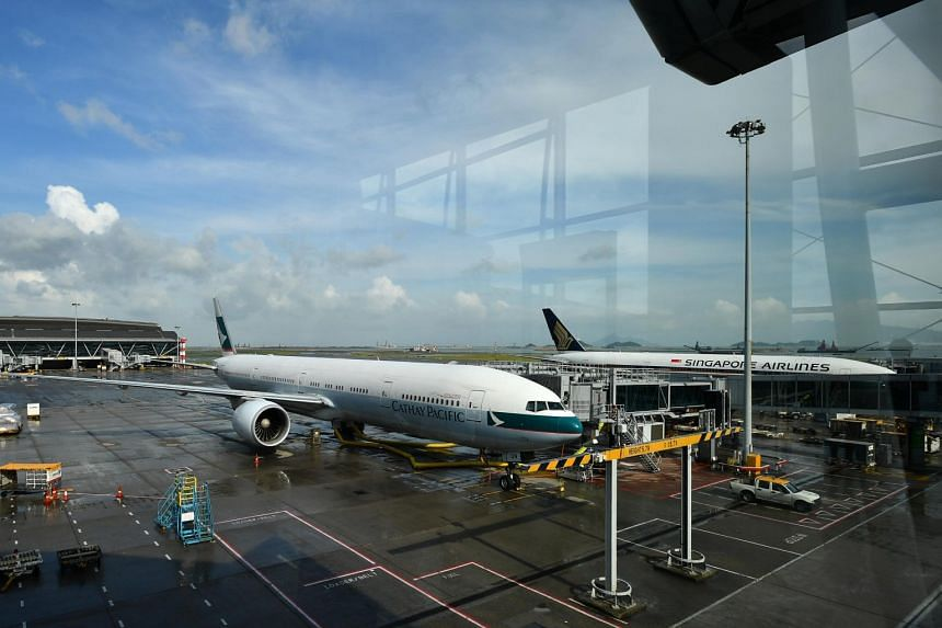 The coronavirus pandemic has hit Cathay Pacific Airways and Singapore Airlines especially hard.