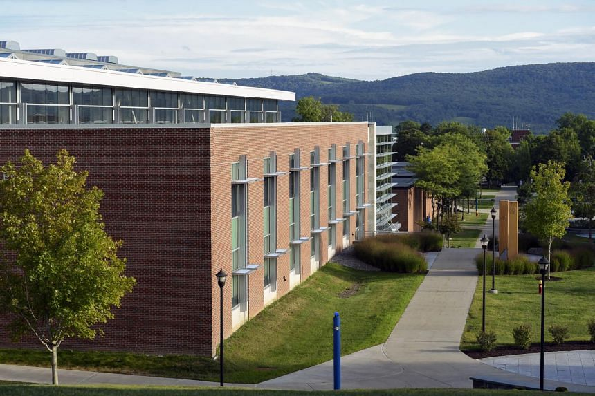 The outbreak at State University of New York at Oneonta began modestly with only two cases on Aug 25, but then spread quickly.