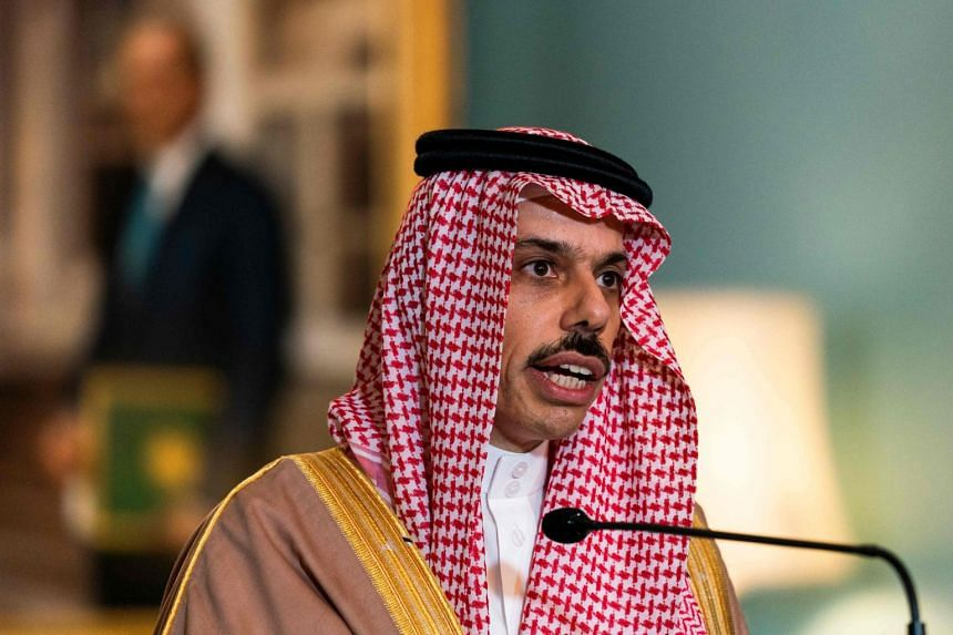 Saudi Foreign Affairs Minister Prince Faisal bin Farhan visited Washington for a US-Saudi strategic dialogue at the State Department on Oct 14.