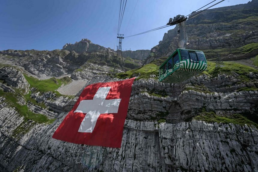 The pandemic has spread through the Swiss region, with 1,238 cases compared with just 500 in mid-September.