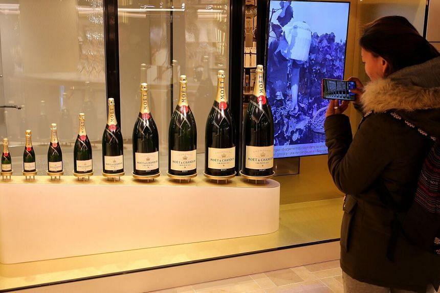 Retail sales of Champagne in France fell 23 per cent between January and July.