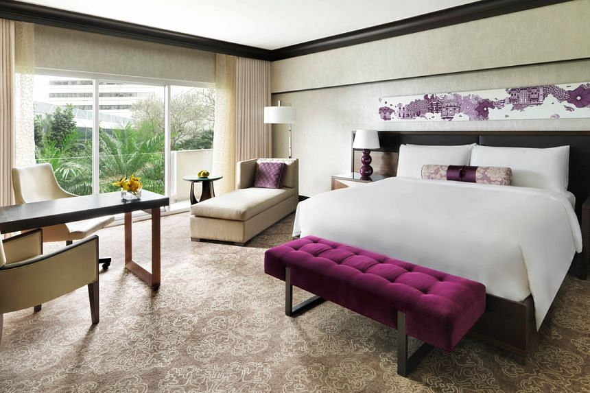 Mumcation, a staycation for mums, is currently being offered by Fairmont Singapore.