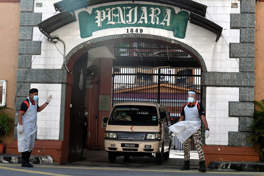 Penang Remand prison has seen at least 189 cases and one death.