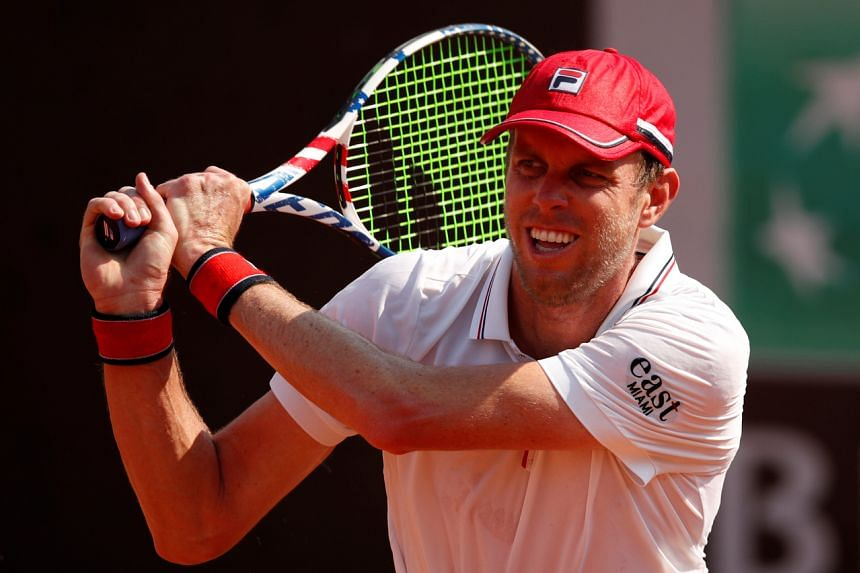 Under ATP health protocols, Sam Querrey was told to isolate in his hotel room.
