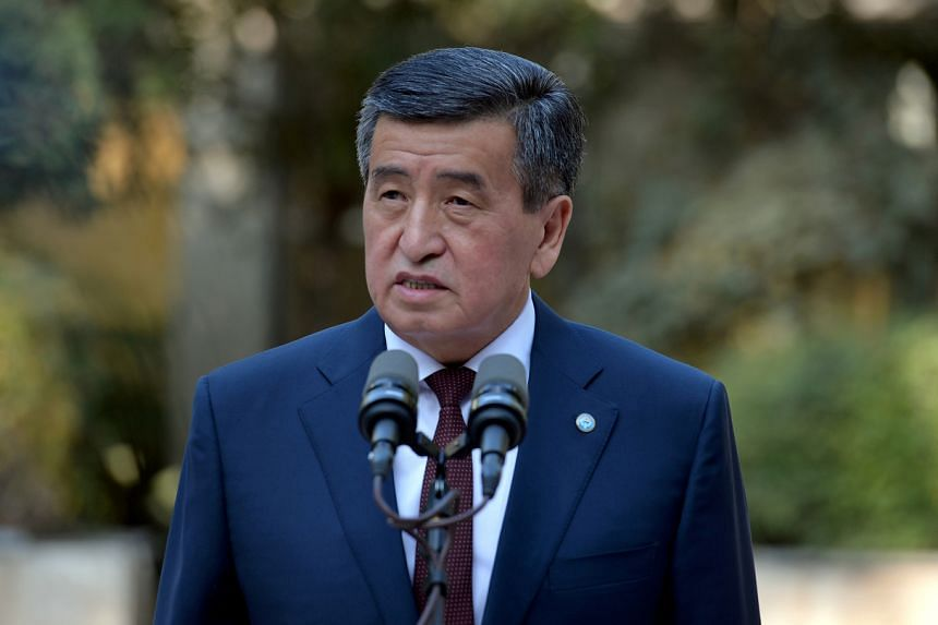 Sooronbay Jeenbekov resigned in a move that he said he hoped would spare the country further bloodshed.