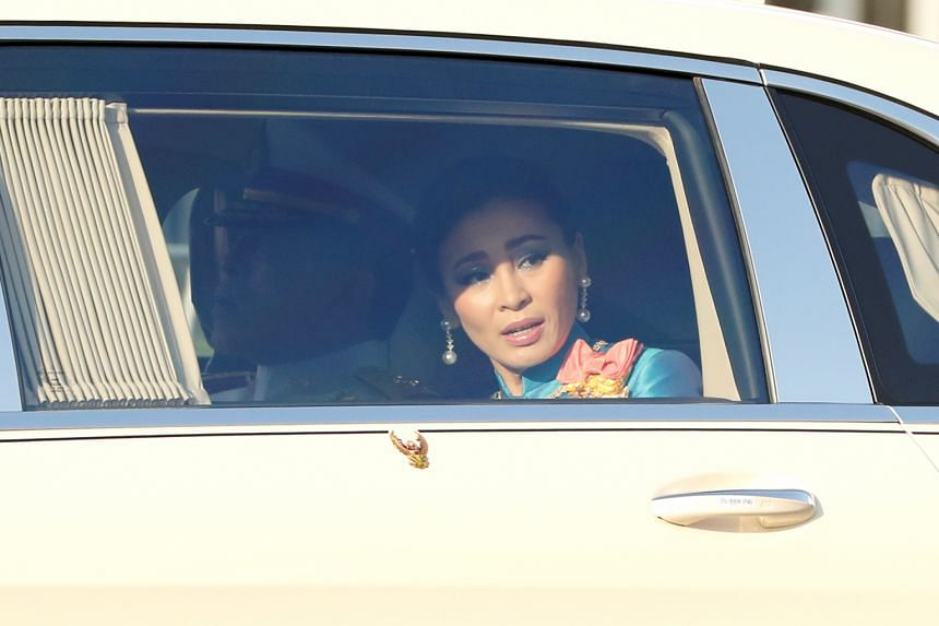 Thailand's government cited the incident around Queen Suthida's convoy as a justification for imposing emergency measures.