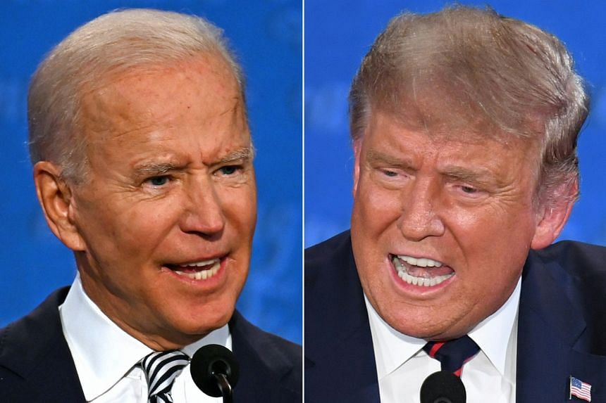 President Donald Trump and Democratic challenger Joe Biden will return to the campaign trail on Oct 16, 2020.