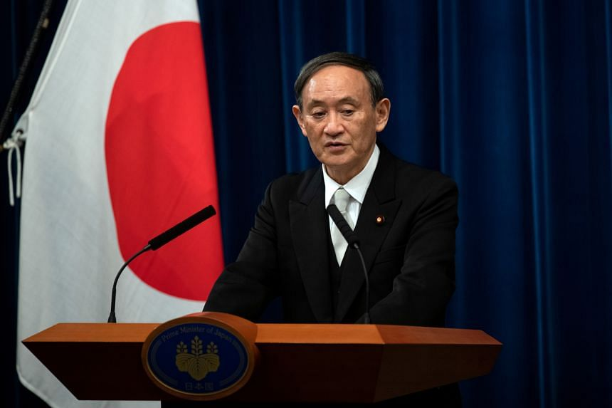 """Prime Minister Yoshihide Suga vowed to do """"whatever it takes"""" to organise the Tokyo Olympics in 2021."""