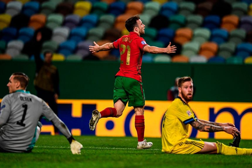 Diogo Jota doing his chances of retaining a place in Portugal's starting line-up no harm with a brace against Sweden on Wednesday. The Liverpool forward replaced Cristiano Ronaldo after the team captain tested positive for Covid-19 earlier in the wee