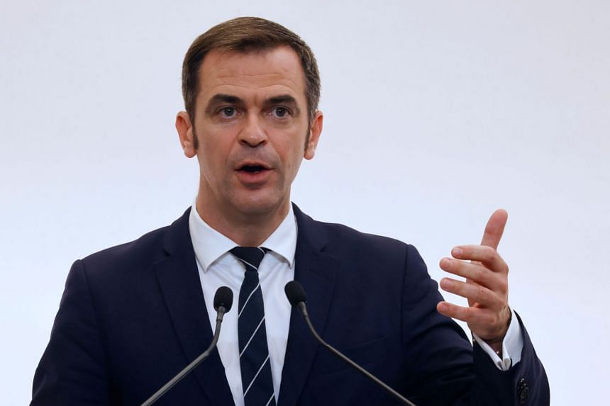 French Prime Minister Jean Castex said he maintained full confidence in Health Minister Olivier Veran (above).