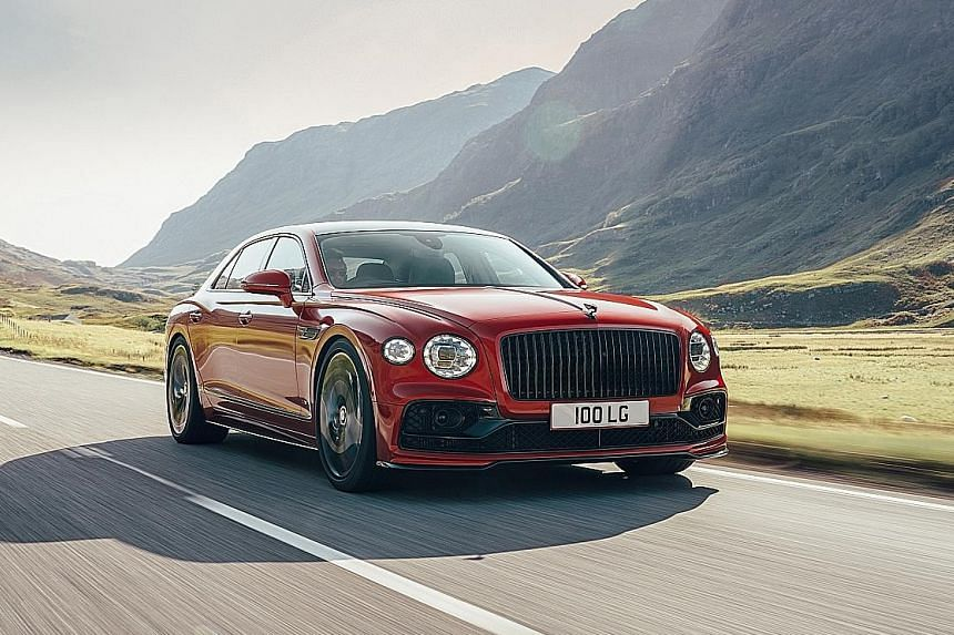 Bentley Flying Spur with twin-turbo V8