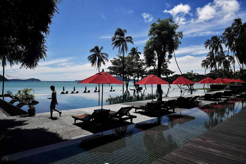A near deserted resort in Phuket last month. China, which accounted for more than a quarter of Thailand's tourist arrivals before the pandemic, will be the first low-risk country the South-east Asian country will sign up for quarantine-free travel, s