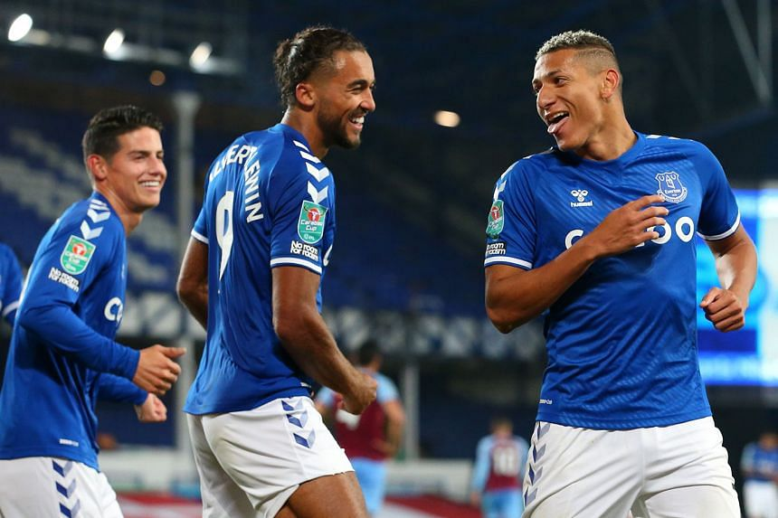 Everton's in-form front three of James Rodriguez, Dominic Calvert-Lewin and Richarlison have fired the unbeaten Toffees to the top of the Premier League table. Having conceded seven goals at Aston Villa, Liverpool must be on their toes at Goodison Pa