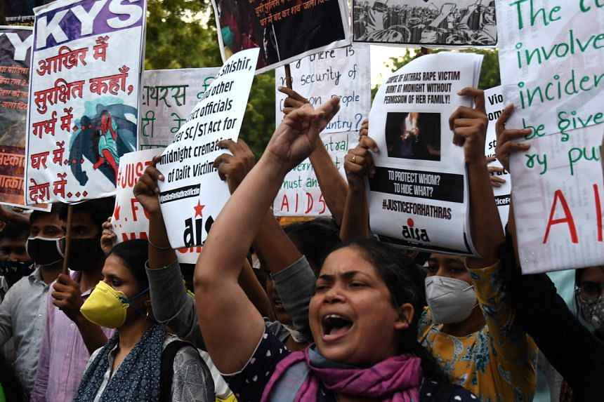 In 2019, there were 3,486 reported cases of rapes against Dalits, and another 3,375 cases of sexual assault.