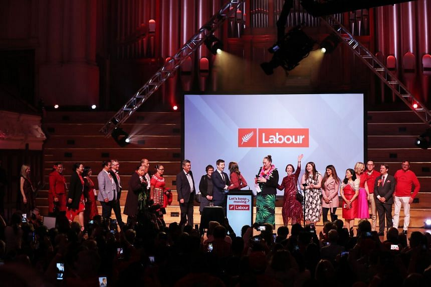 The Labour Party was forecast to take around 64 seats in the 120-member Parliament.