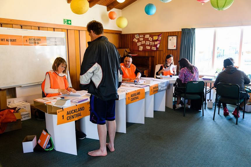 The vote was originally set for Sept 19 but was delayed by a virus outbreak in Auckland.