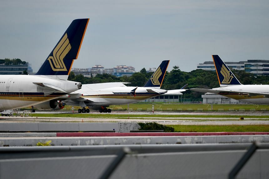 Singapore Airlines said in September that it was letting go of about half of its cadet pilots and all cabin crew trainees.