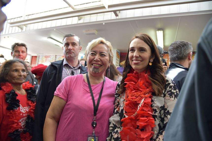 Ardern's party seizes big lead in New Zealand election initial returns