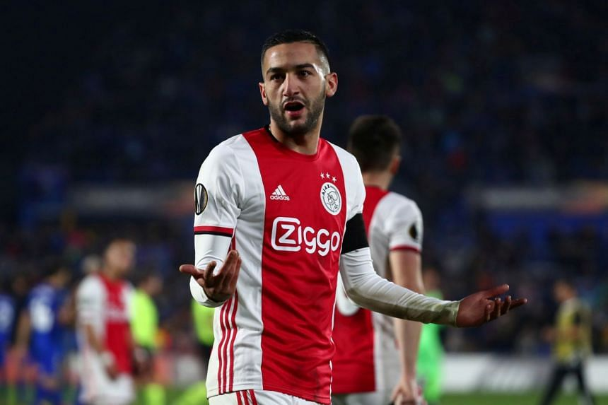 Hakim Ziyech will make his Chelsea debut when they play Southampton on Oct 17, 2020.