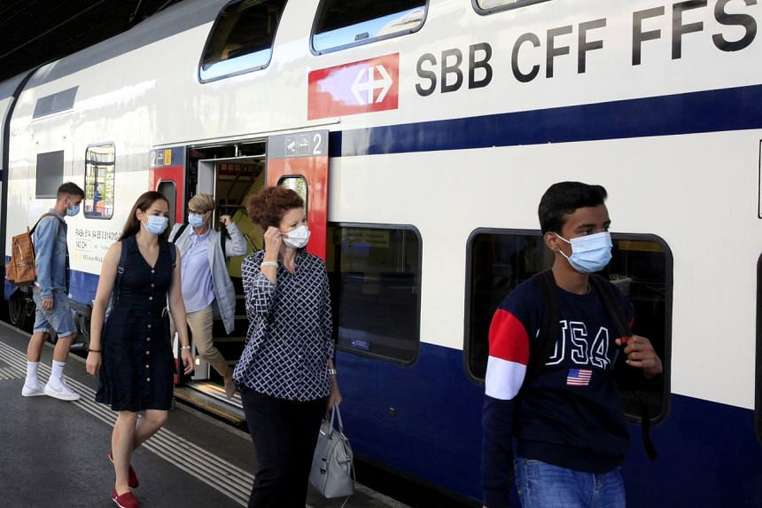 An order to wear masks on public transport has been extended to cover train stations, airports, bus and tram stops.
