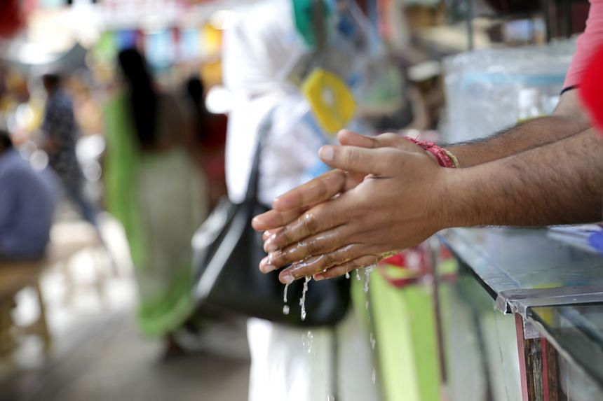 The study backs World Health Organisation guidance for regular and thorough hand washing to limit transmission of the virus.