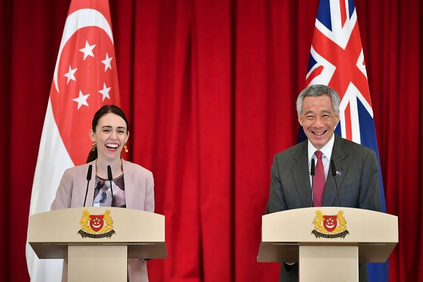 PM Lee noted the close ties between the two countries which led to them upgrading their relations to an Enhanced Partnership during Ms Ardern's official visit to Singapore in May 2019.