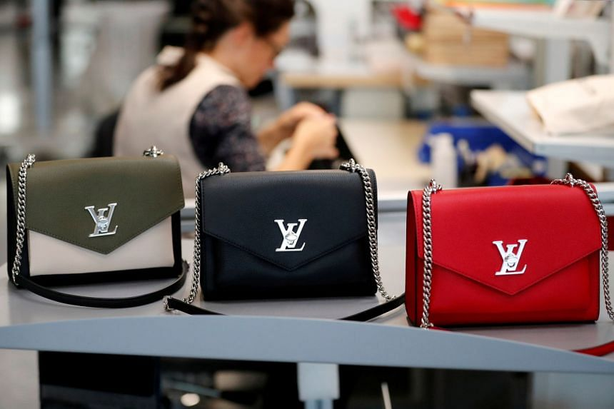 Sales at LVMH Moet Hennessy Louis Vuitton's fashion and leather goods division rose 12 per cent in its third quarter.