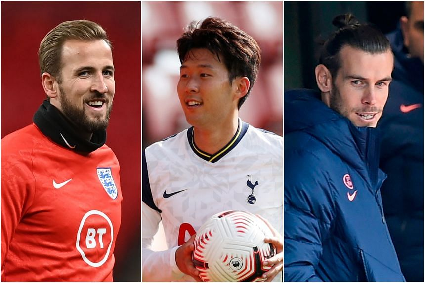 Tottenham's (from left) Harry Kane, Son Heung-min and Gareth Bale can help the team become more competitive, says Graeme Souness.