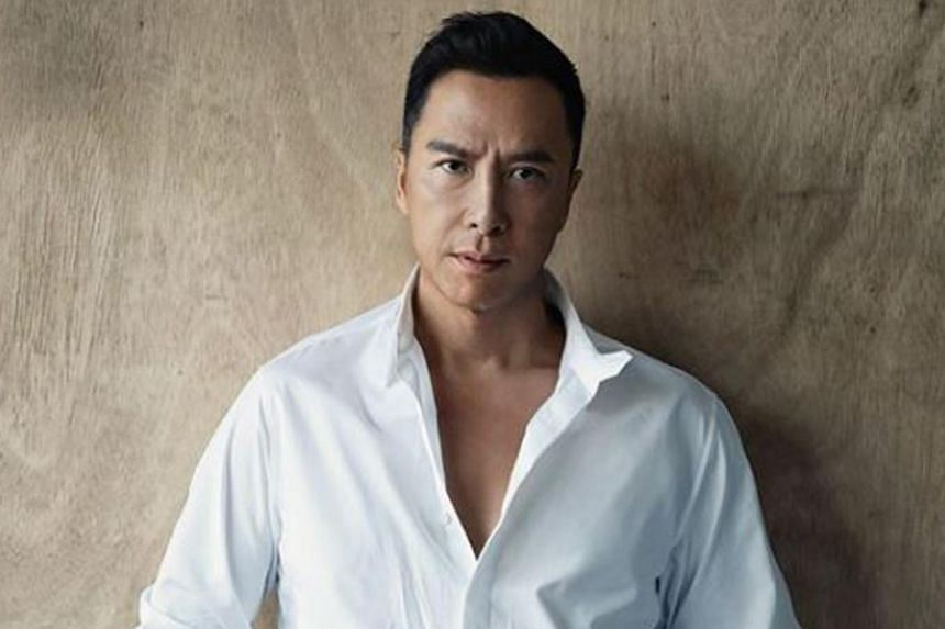 A Chinese movie company had accused Donnie Yen of prima donna behaviour during the making of a movie.