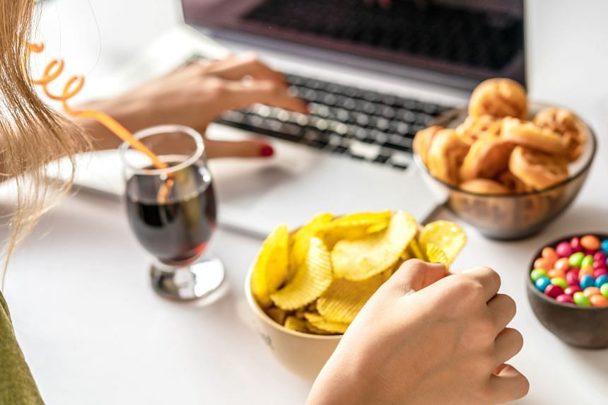 Patients are finding it harder to manage their binge-eating tendencies during this period.