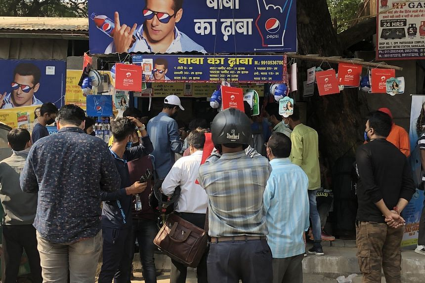 Many have been visiting Baba Ka Dhaba, a roadside eatery in Delhi, after a video featuring its owners went viral.