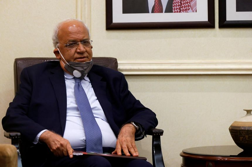 Palestinian negotiator Saeb Erekat had tested positive for Covid-19 on Oct 19, 2020.
