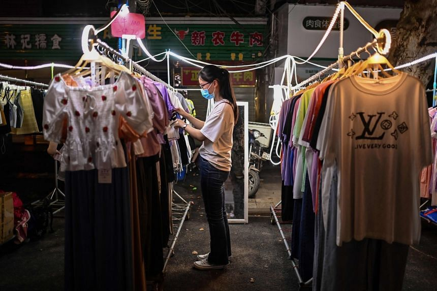 There is a stigma to wearing old or second-hand clothes in China.