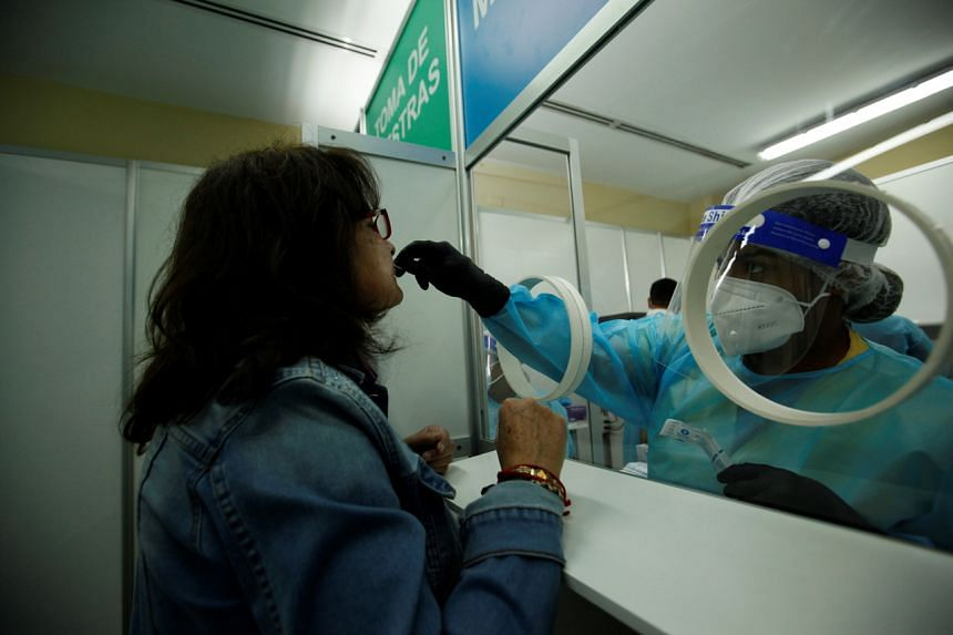A Panamanian health official said of those tested, one in 20 people have come back positive for Covid-19.