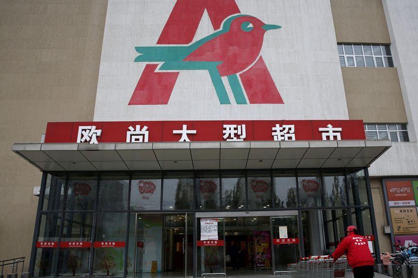Sun Art already operates 484 hypermarkets across China under the Auchan and RT-Mart brands.