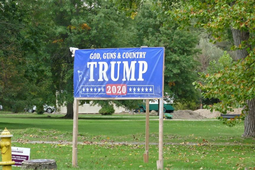 Ohio is one of the battleground states which are key to winning the presidency.