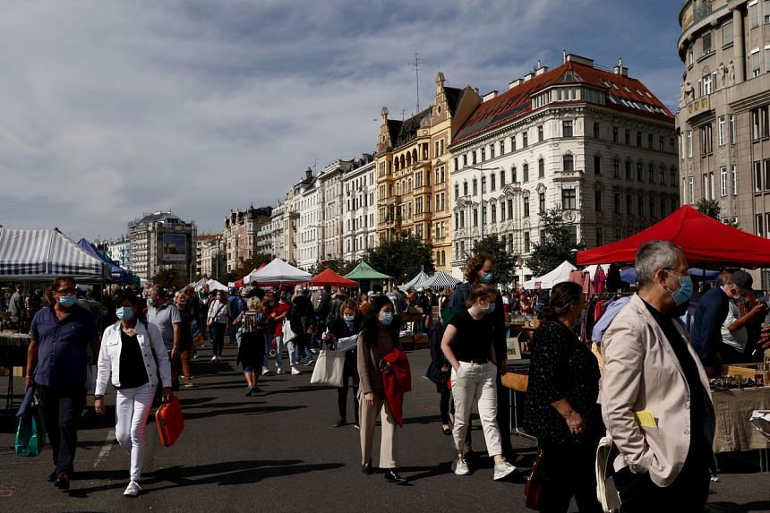 Austria will limit private gatherings to a maximum of 12 outside.