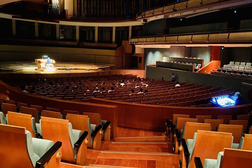 From Nov 1, live performances can resume at designated venues, with up to two zones and each having a maximum of 50 people in the audience.