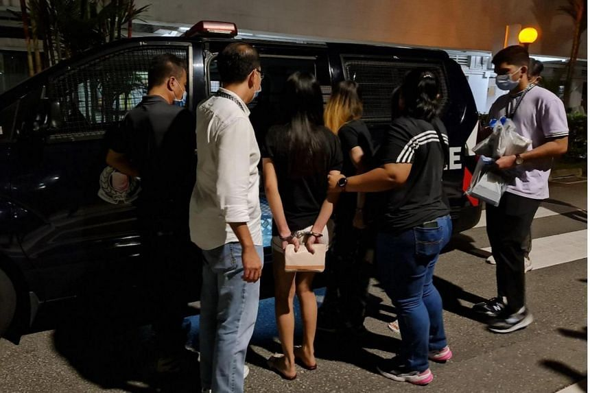 Twenty-three men and eight women were nabbed in raids.