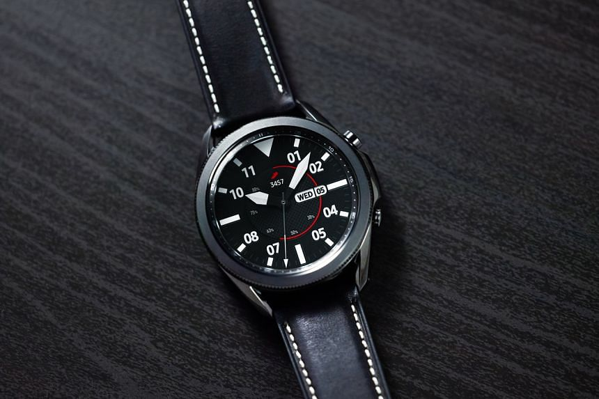 The Samsung Galaxy Watch3 retains the gorgeous looks of its predecessor.