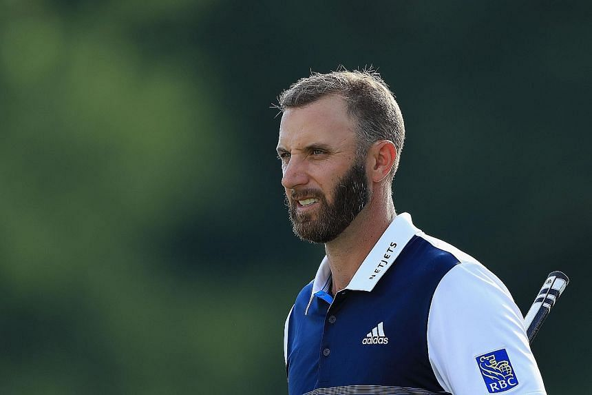 Top-ranked American golfer Dustin Johnson has withdrawn from two tournaments since his positive Covid-19 test. PHOTO: AGENCE FRANCE-PRESSE