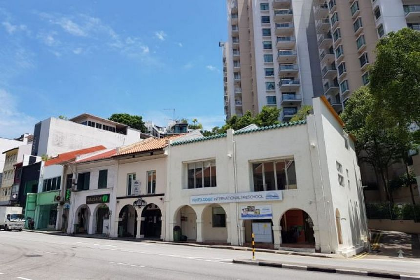 Three adjoining freehold shophouses at 262, 264 and 266 River Valley Road have been offered for sale via an expression of interest exercise.