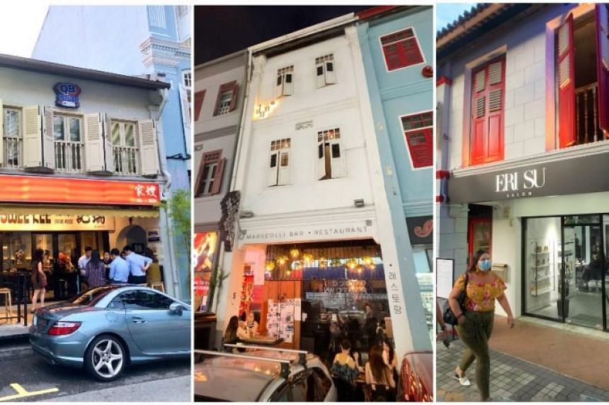 Freshly launched properties include shophouses in River Valley, Bugis and Telok Ayer.