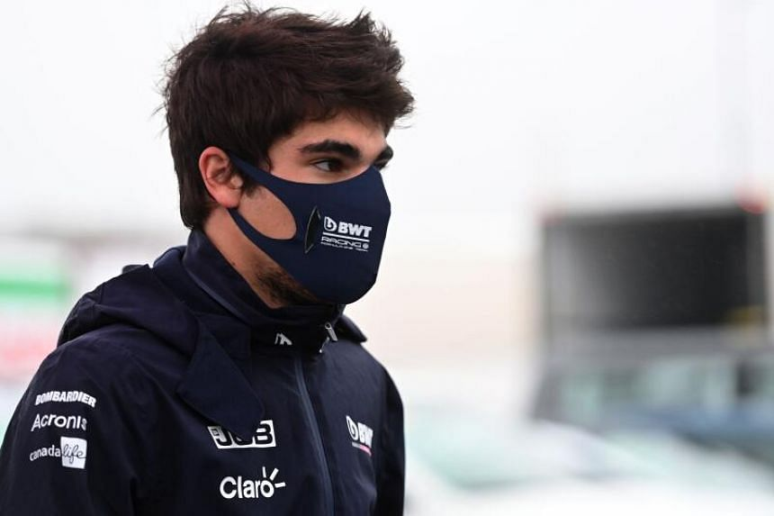 Lance Stroll had felt unwell since the Russian Grand Prix on Sept 27, 2020.