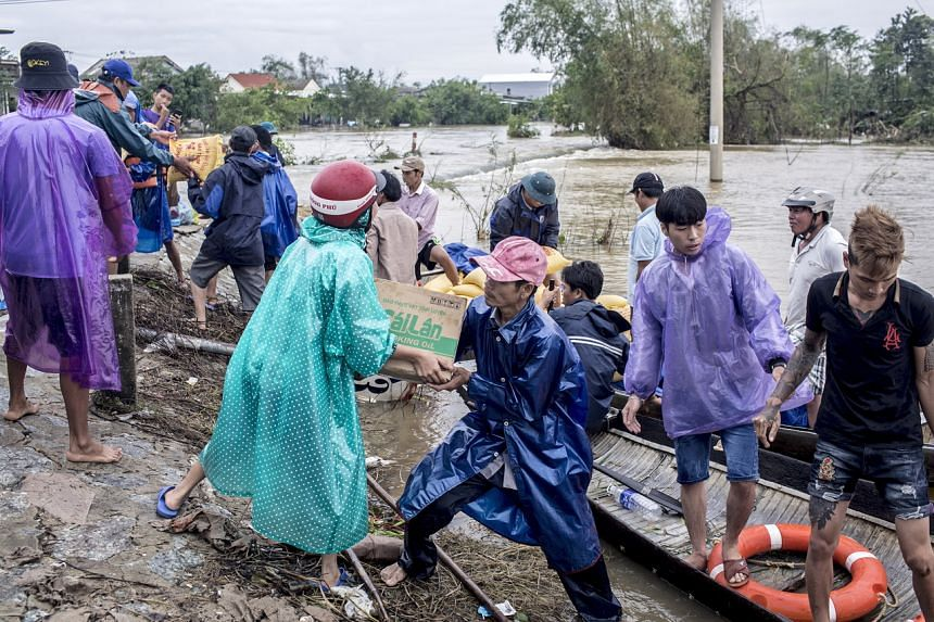 More than 100 people have died and 20 others are missing in central Vietnam.