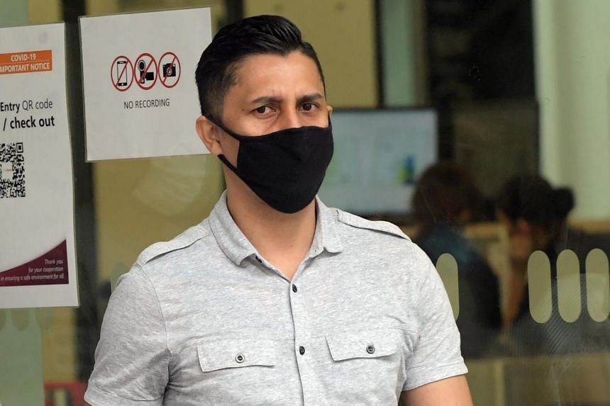 Imran, a father of three, molested the woman after dropping off his date.
